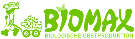Biomax Logo - biologische Obstproduktion